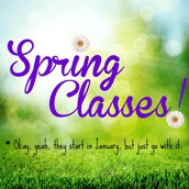 SIGN-UP FOR SPRING CLASSES AT PSP!