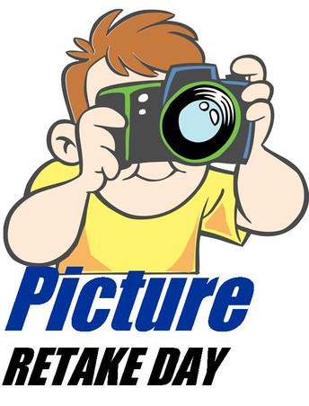 Picture retakes are on MONDAY!