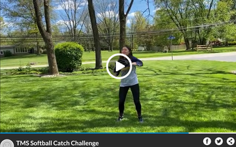 Check Out Tamanend Softball Catch Challenge