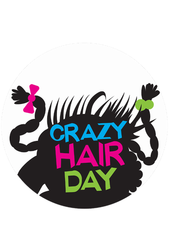 Dress up theme: Crazy hair day