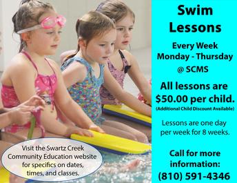 Swim Lessons - Summer