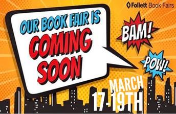 Book Fair ~ Postponed