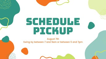 Schedule Pickup for ALL students