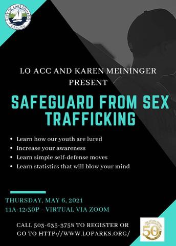 Safeguard from Sex Trafficking Presentation