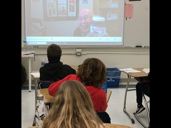 4P is visiting virtually with Fr. Mario!
