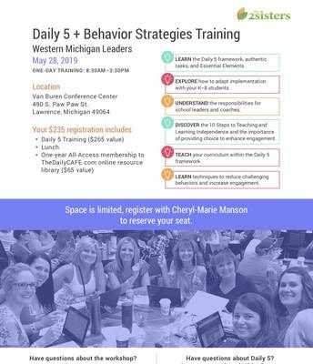 Daily 5 + Behavior with Gail Boushey