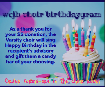 Choir Birthdaygrams