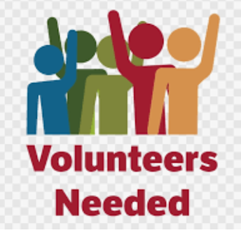Volunteers Needed--Go to SignUp