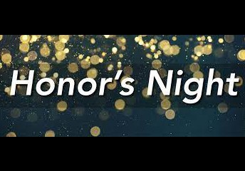 Senior Honors Night Info Form, Due April 30th