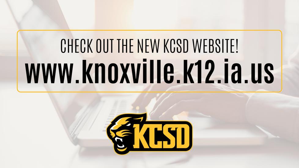 Newly designed KCSD Website