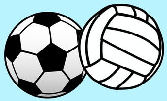 Volleyball and Soccer Game Dates in February