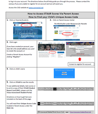 How to Access STAAR results
