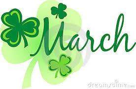 MARCH/APRIL DATES