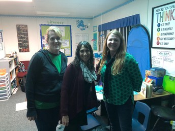 Mrs. Morebeck, Mrs. Clark, & Mrs. Jones