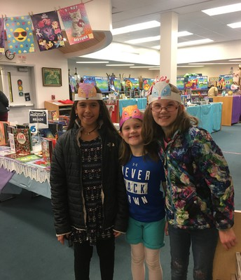 Family Literacy Night at the Book Fair!