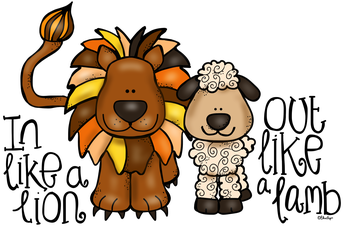 March 31st - Lion or Lamb?