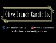 Olive Branch Candle Co.- Online Retailer out of Delaware