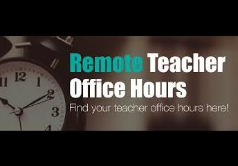 PKMS Monday Teacher's Office Hours