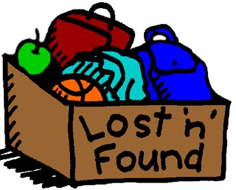 LOST AND FOUND - ATTENTION PARENTS