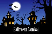 Halloween Carnival Oct.28th, 5:30 p.m. - 9:00 p.m.