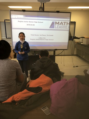 Math Club News