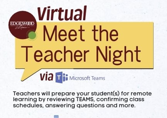 Your Teachers Are Ready to Meet with You via Teams!