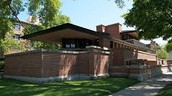 Robie House In Chicago