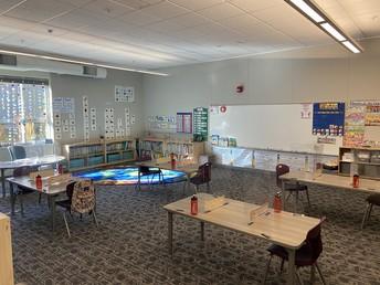 First grade at TES
