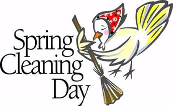 Spring Clean Up Day, May 30, 8:00 a.m.-Noon