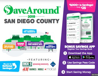 San Diego County Coupon Books Fundraiser