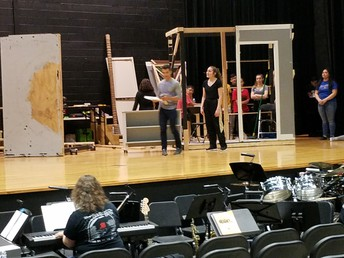 Musical Rehearsal and Set Construction