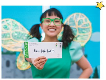Request a Letter from the Tooth Fairy