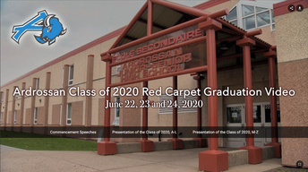 2020 Ardrossan Red Carpet Recognition Ceremony