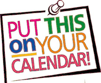 Upcoming PTA Dates