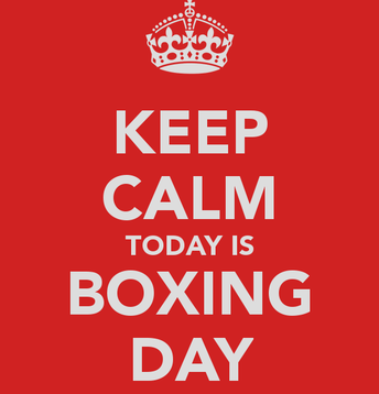 Boxing Day- December 26th
