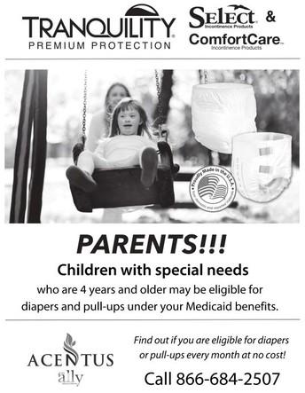 Texas Medicaid Diaper & Pull-up Program