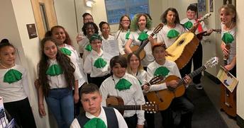 Sabin Middle School's Mariachi Ensemble