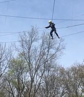 High ropes at Camp Minikani