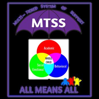 Middle School MTSS Reminder!