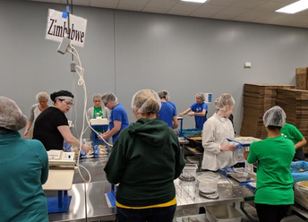 Student Council: Feed My Starving Children Trip