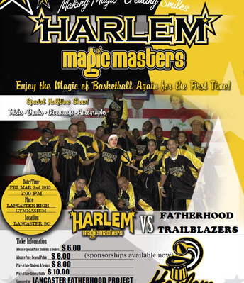 The Harlem Magic Masters visit Rucker!