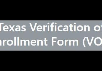 Verification of Enrollment