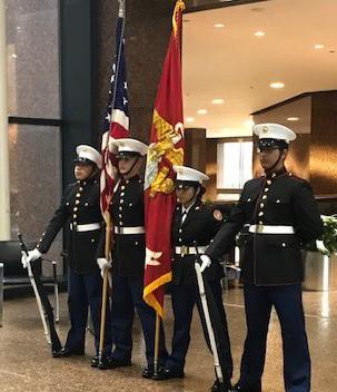 Marine Corps' 245th Birthday and Veterans' Day