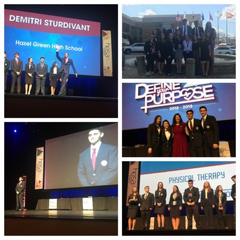 HOSA Attends State Leadership Conference