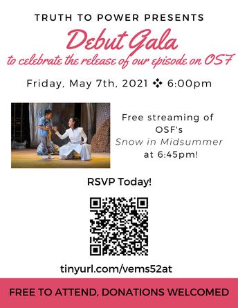 Truth to Power Virtual Gala - 5/7