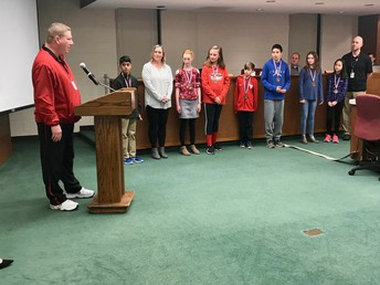 Two-ball champions recognized by Board of Education
