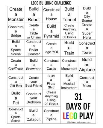 31 Days of Legos