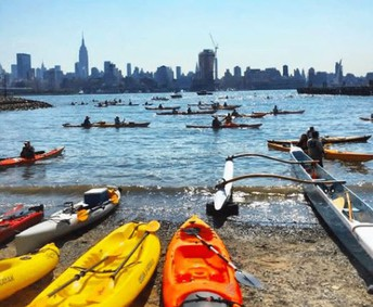 Stand Up Paddle Boarding & Kayaking Program Along the Hudson River is Now Open to Hoboken School District's Middle and High School Students