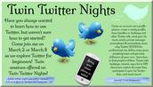 Twin Twitter Nights