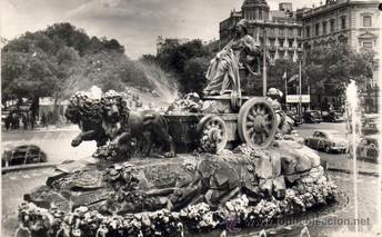 Antigua fuente de Cibeles (Madrid)